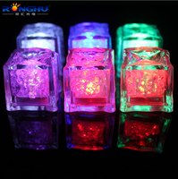 Hot sale Cheap Plastic LED Lighting Ice Cubes for wholesale