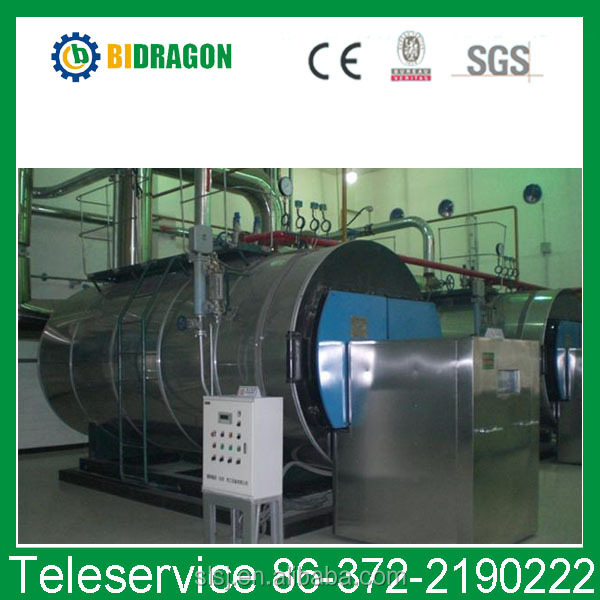 energy save oil fired condensing steam boiler