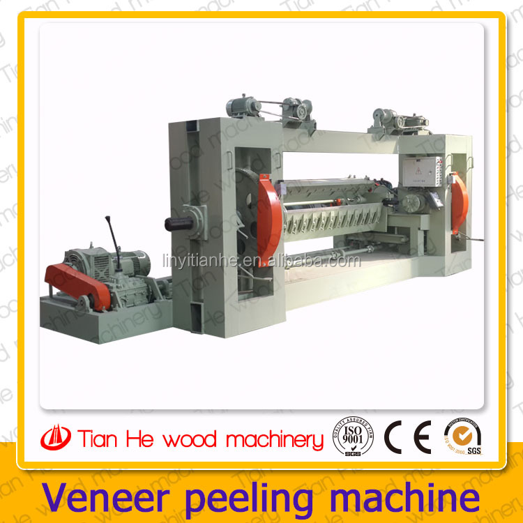 Tianhe houtbewerking machines, 2600 mm/8 ² fineer peeling machine, hout fineer peeling machine spindel, log peeling machine, multiplex