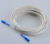 FTTH drop cable patch cord 1core 2core 4core G652/G657/G657A SC upc connector singlemode multimode om3 fiber patch cord