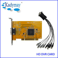 CCTV Camera Video Capture Card PC 4ch software dvr card h.264