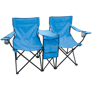 Portable Backpack High Seat 2 Person Folding Beach Chair