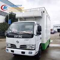 Chinese Hot Sale Dongfeng mini freezer refrigerated truck supplier