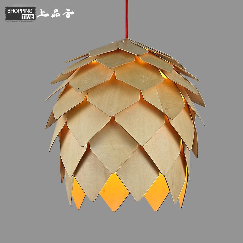 2015 nordic ikea pomme de pin en bois lampes suspendues muuto cuisine moderne clairage. Black Bedroom Furniture Sets. Home Design Ideas
