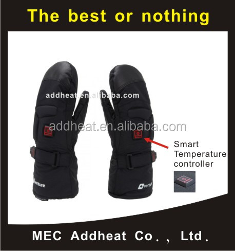 High quality heating element for gloves , Battery Heated Gloves-Mitten, safety and washable