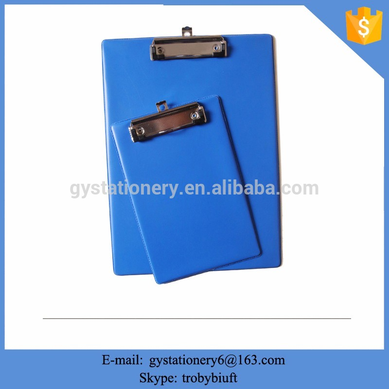 Customized menu clipboard with pvc