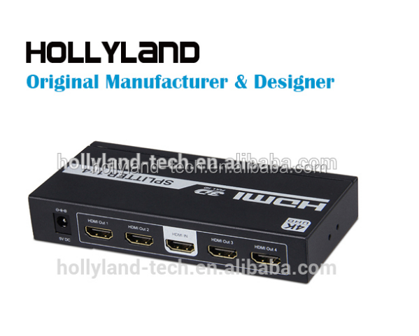 4kx2k HD 1080P 1X4 HDMI V1.4 SPLITTER FOR HDTV / STB/ DVD / PROJECTOR / DVR