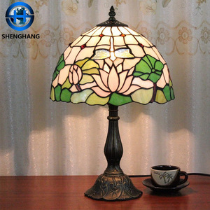 Most popular Tifany Flower Table Lamp tiffany stained butterfly style lamp