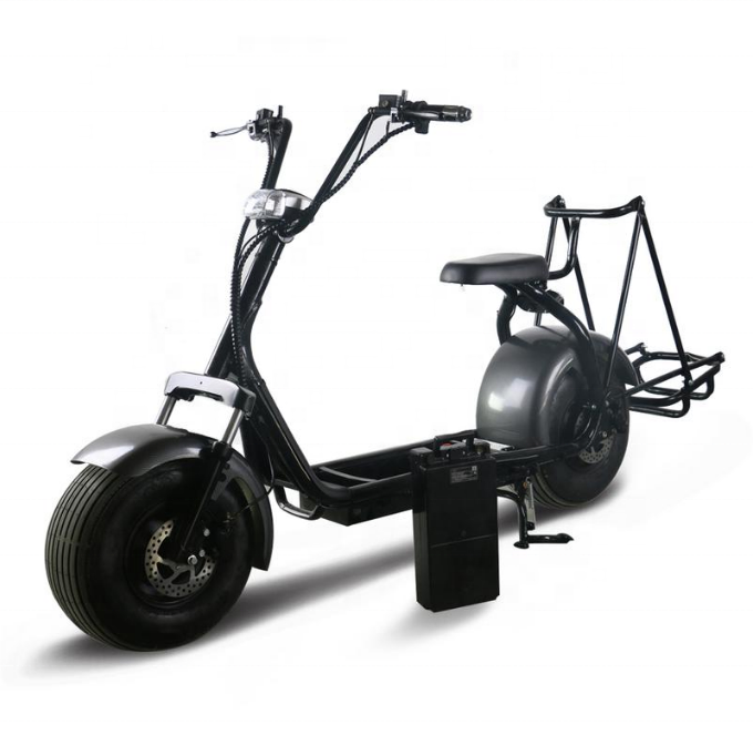 2019 fashion new design 1500w 60v 20ah electric scooter 2019/city coco with golf support, Customized