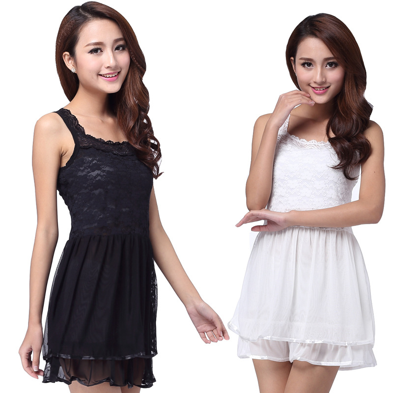 bfb53d4d121 Get Quotations · 2015 Summer sexy Korean brand new dress fashion lace  embroidery dress HD0156