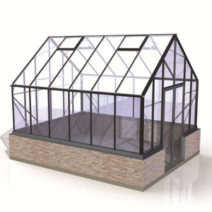 customized modular glass house for sale greenhouse glass garden house small house garden