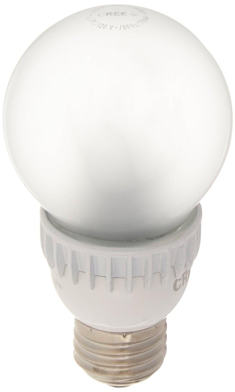 Cree BA19-08027OMF-12DE26-2U100 60W Equivalent 2700K A19 LED Light Bulb, Soft White