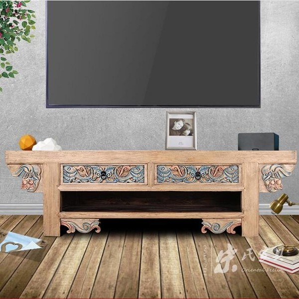 wholesale china antique hand carved TV Cabinets - Wholesale China Antique Hand Carved TV Cabinets, View Chinese