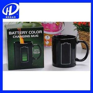Battery Heat Changing Mug Color Cup Coffee Sensitive Magic Tea Hot Reactive Cold Ceramic