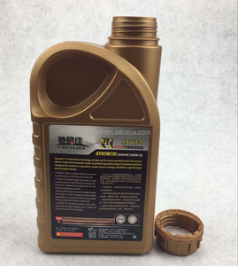 1 litre plastic bottle engine oil lubricants bottle