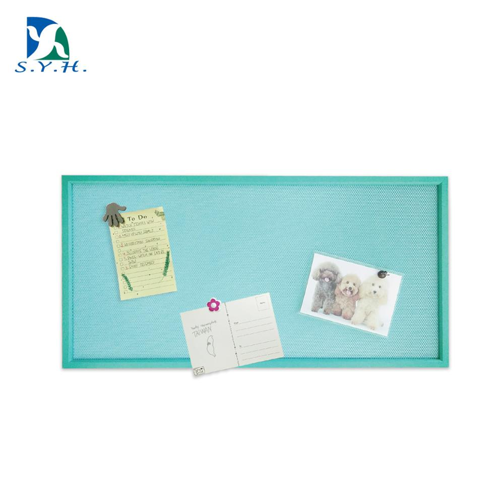 Kleur diamond Mesh bulletin board