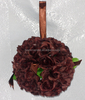 how to make hanging flower balls for wedding