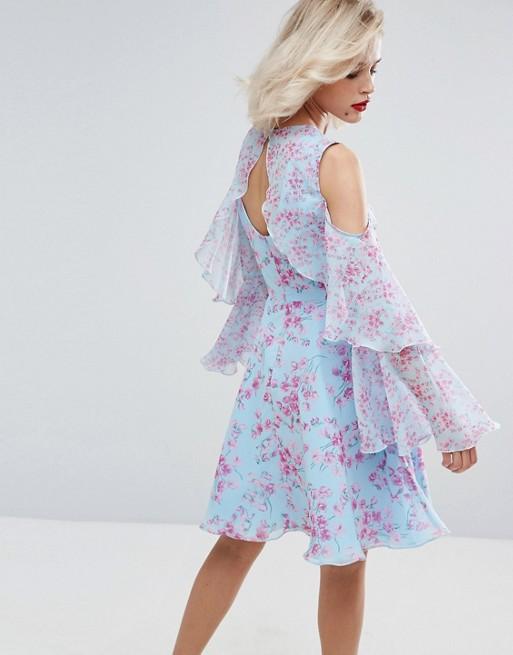 01adc1aa3 De alta qualidade por atacado vestido de festa para mulheres gordas leve  floral verão maxi vestido