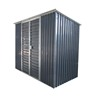 low price metal shed modular demountable flat pack garden sheds