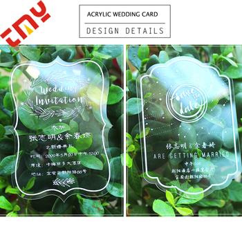 Latest Sample Marriage Laser Cut Invitation Cards Printing Design Royal Acrylic Gold Foil Engagement Invitation Card View Acrylic Invitation Card