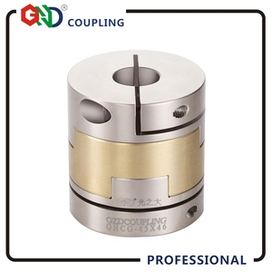 GHCG Shaft Coupling Oldham High rigidity Stainless steel Flexible Clamp series diameter 16.8mm length 24.4mm