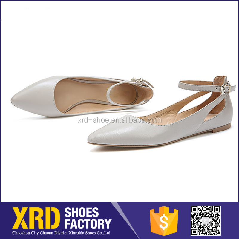 Factory dirctly women leather shoes casual shoes wholesaler