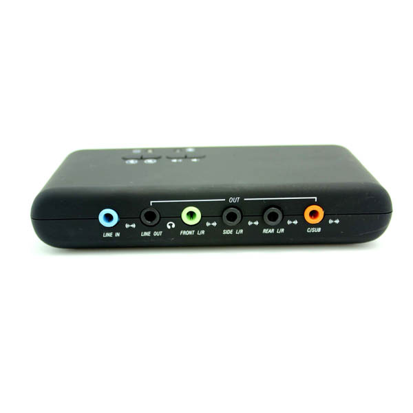 7.1 USB Audio Adapter External Sound Card with SPDIF Digital Audio