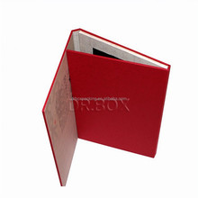 custom printed VIP card packaging paper box with insert