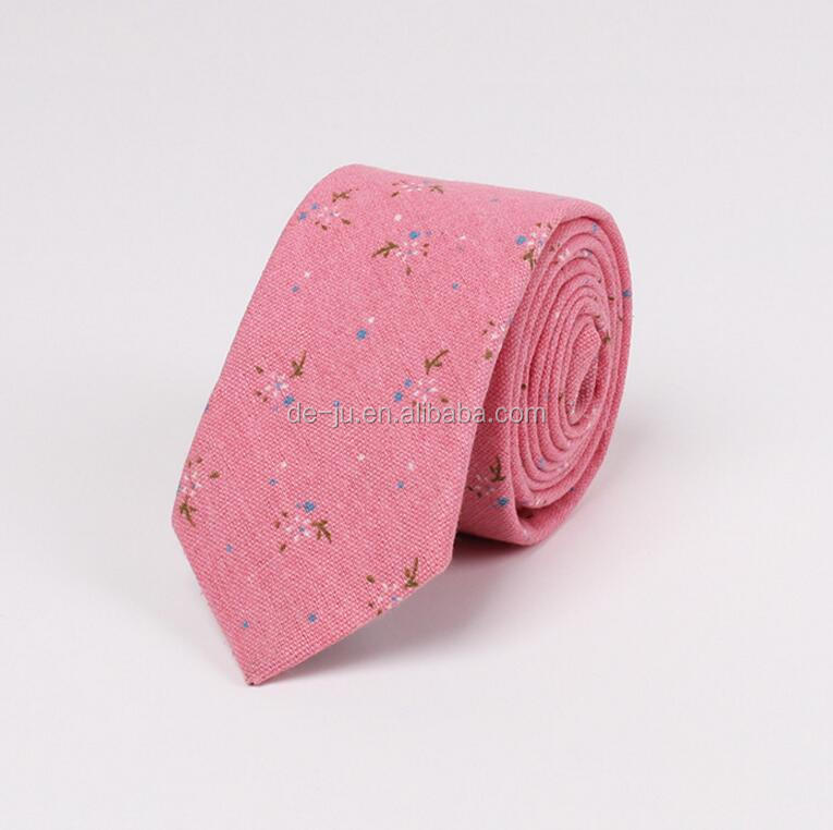 Small Flowers Printing Classic Cheap Printed Logo <strong>Ties</strong>