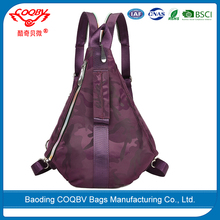 COQBV beautiful cool unisex waterproof sling backpack shoulder bag chest bag