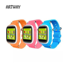 New Kid GPS Smart Watch Color TFT Display Touch Control Wristwatch SOS 2 Way Call WiFi Location Finder Locator Device Tracker