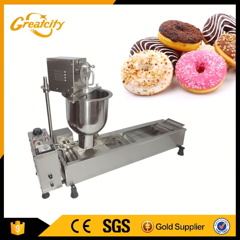 Best price donut robot machine with 3 moulds and low energy consumption