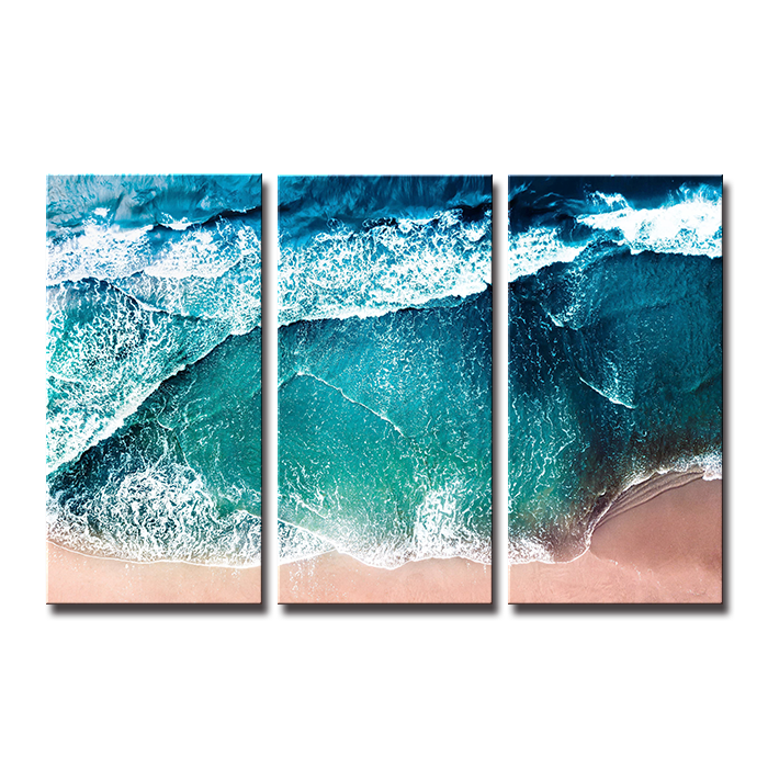 SEEGART 3 panels Holiday island seascape sea ocean beach <strong>pictures</strong> printed on canvas for living room