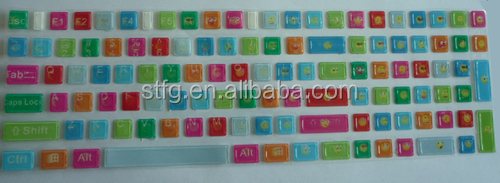 Decorative Cartoon Keyboard Stickers For Laptops