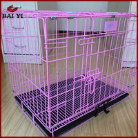 Steel Iron Wire Mesh Samll Dog Cage Factory Supply