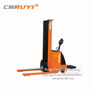New large capacity electric stacker with CE certificate