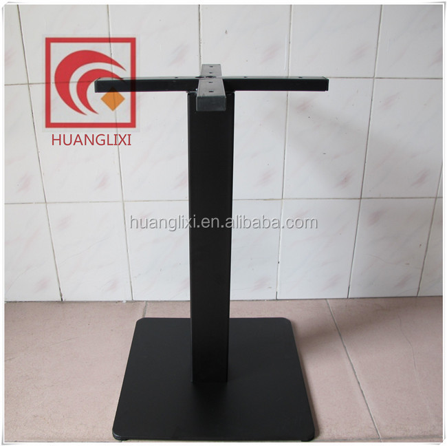 Steel base Black table legs factory direct sale, modern dining coffee table base