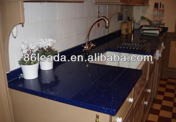 Encimeras de cuarzo marr n chocolate azul gata encimera for Encimera marron chocolate