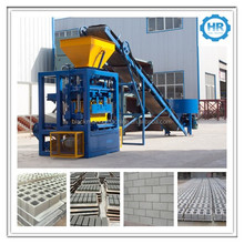 henryQT4-24 paver block machine/concrete brick plant/small scale industries machines china
