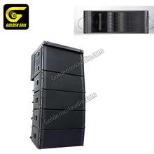 TTL55 Dual 12' inch rcf qsc design box terbaik speaker 10 passive line  array speakers price