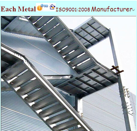 Prefabricated Light Steel Structure Outdoor Steel Stairs   Buy Outdoor  Steel Stairs,Residential Steel Stairs,Steel Stair Nosing Product On  Alibaba.com