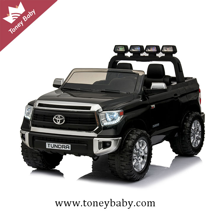 Best Price Licensed Toyota Tundra Kids Electric 24 Volt Ride On Jeep Cars With 2 Seats
