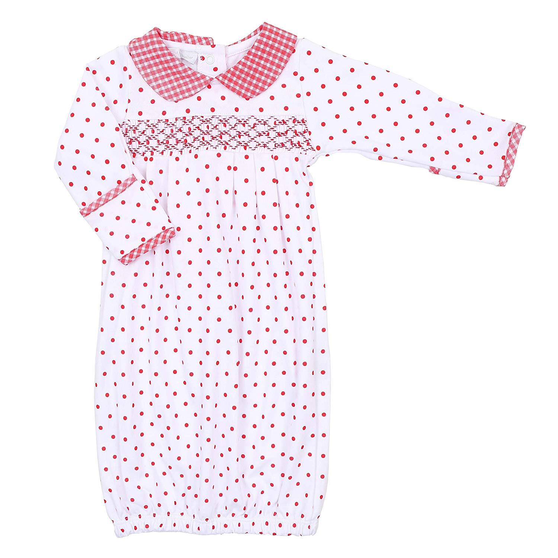 e4d757aca Cheap Red Smocked Baby Dress