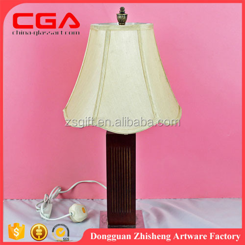 Factory supply hotel resin table lamp taccia table lamp hot sale