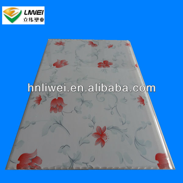 PVC 3d printing ceiling tiles design ,wall paneling bathroom wall tiles