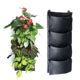 Environment friendly 4 pockets wall hanging plant grow bags