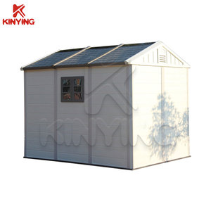 Kinying brand durable modern home solar shed