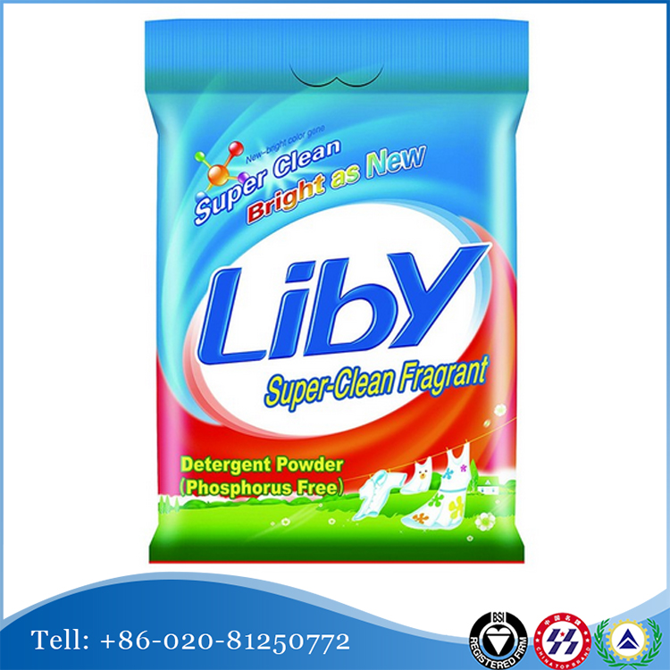 liby super clean washing powder factory supplier