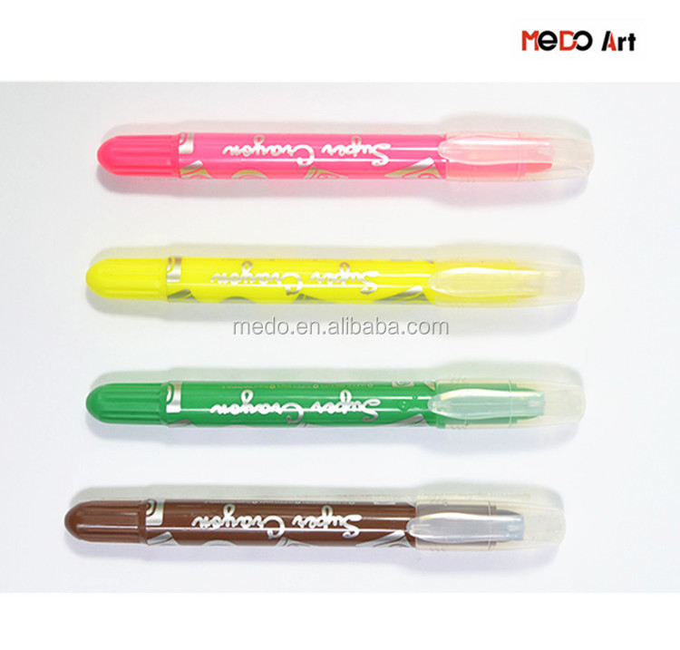 Terbaik Art Krayon 4 Pack Massal DIY Wax crayon Set Massal