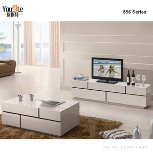 living room furniture modern corner wood tv cabinet malaysia D856
